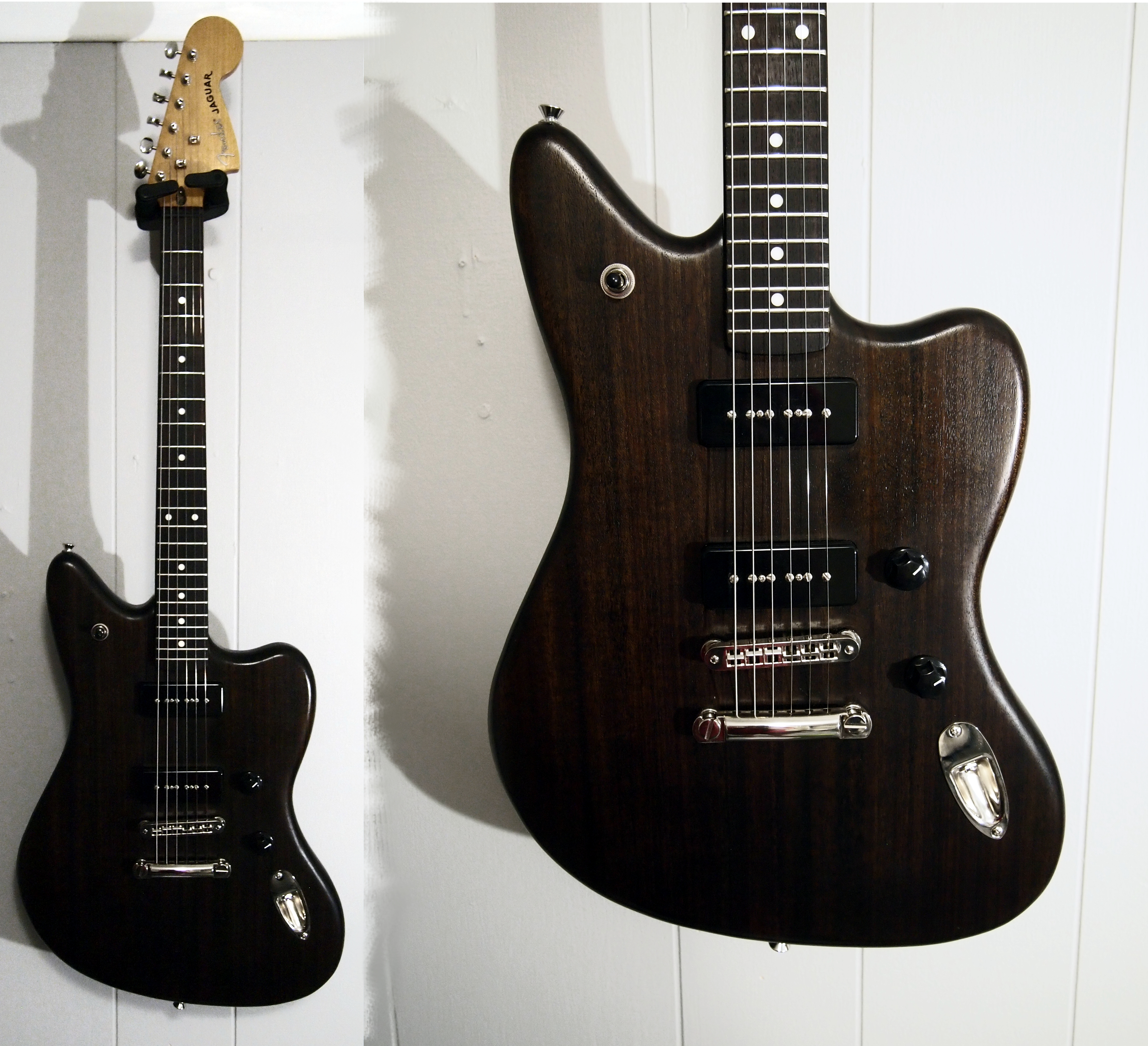 Fender Jaguar Hh Blacktop
